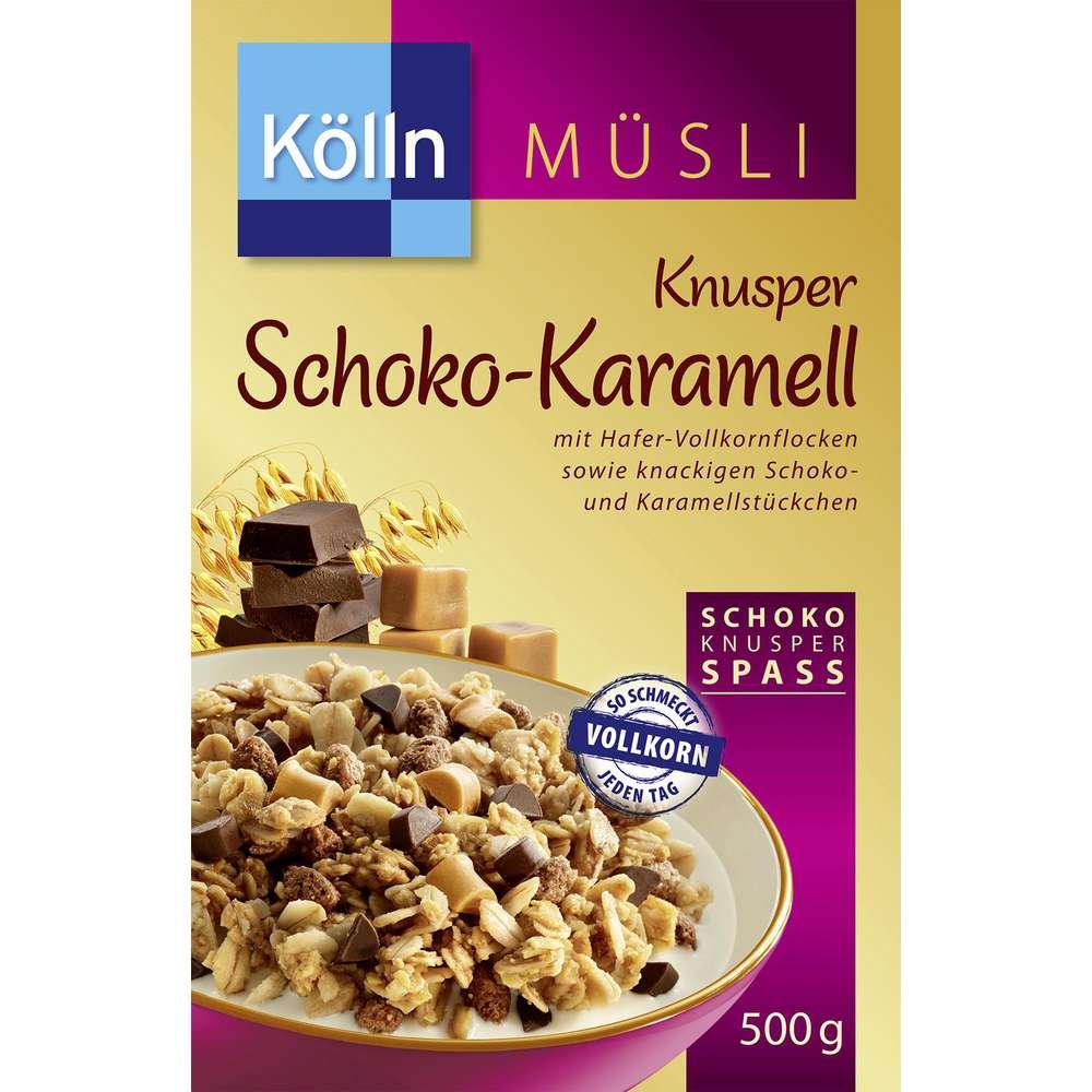 Knusper Schoko-Karamell Müsli