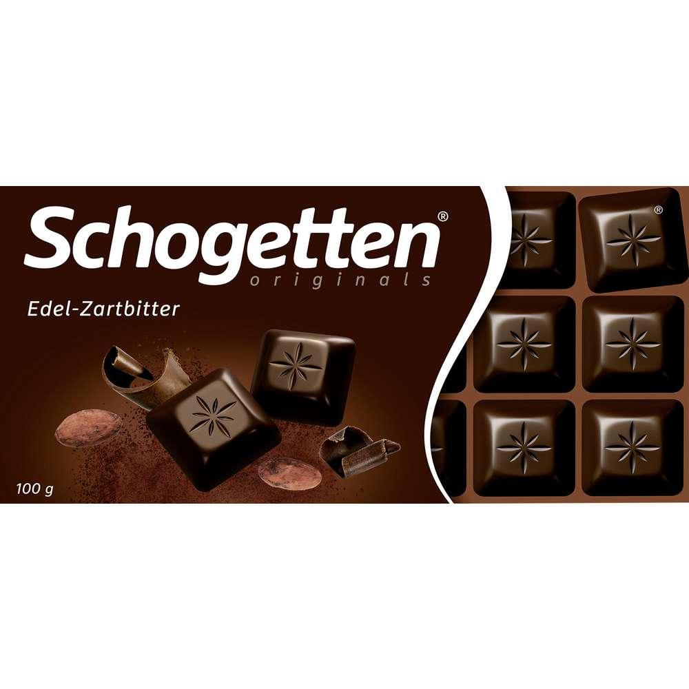 Tafelschokolade Schogetten, Zartbitter