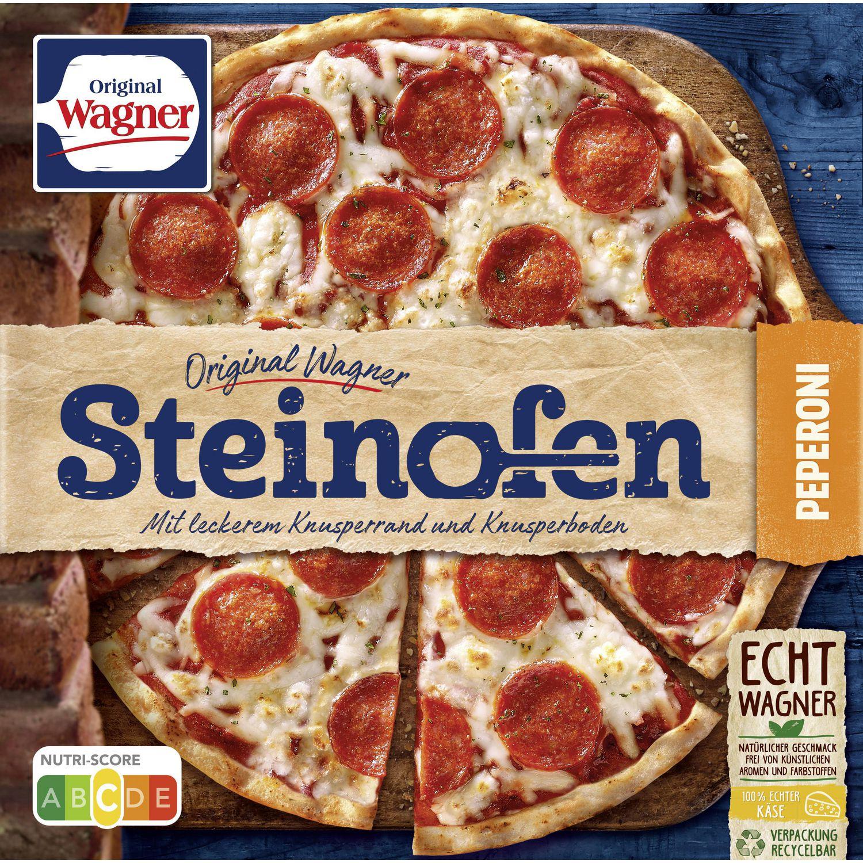 "Steinofen Pizza ""Pepperoni"", tiefgekühlt"