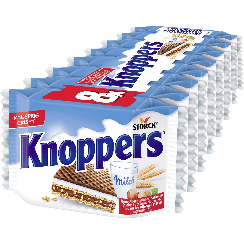 Schokolade Milch-Haselnuss-Schnitte 8-er