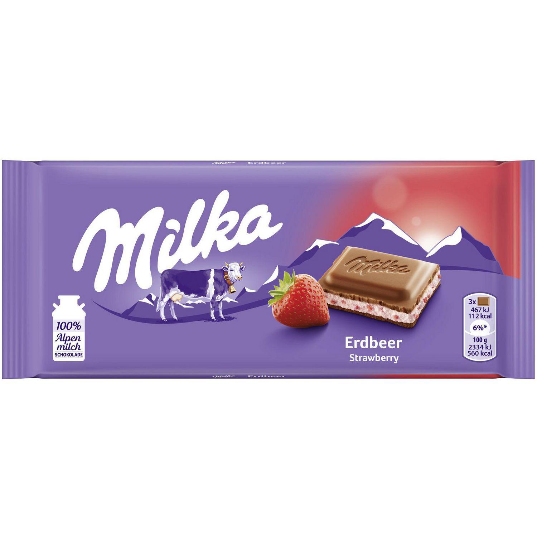 Tafelschokolade, Erdbeer-Joghurt