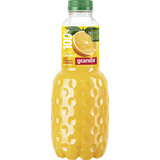Trinkgenuss Orangensaft mit Fruchtfleisch